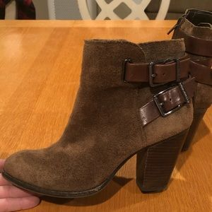 Gianni Bini Suede Booties